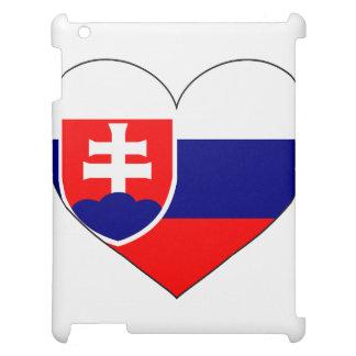 Drapeau de la Slovaquie simple Étui iPad