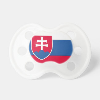 Drapeau de la Slovaquie Sucette Pour Bébé