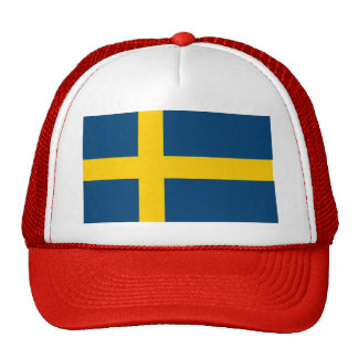 Drapeau de la Suède Casquettes De Camionneur