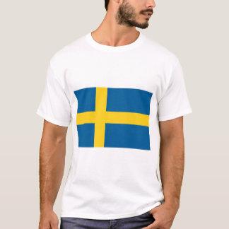 Drapeau de la Suède T-shirt