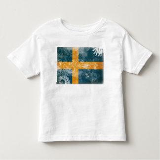 Drapeau de la Suède T-shirt Pour Les Tous Petits