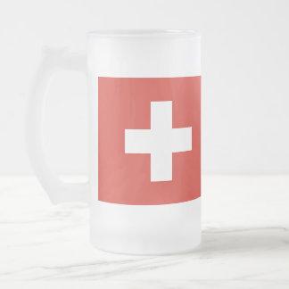 Drapeau de la Suisse Chope Givrée