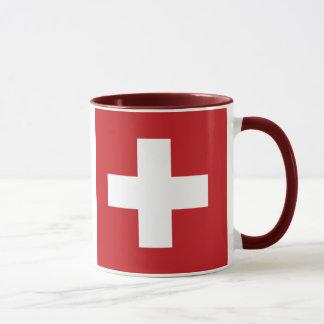 Drapeau de la Suisse Mug