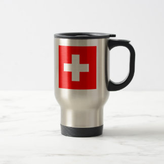 Drapeau de la Suisse Mug De Voyage