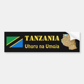 Drapeau de la Tanzanie + Adhésif pour pare-chocs d Autocollants Pour Voiture
