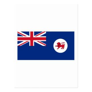 Drapeau de la Tasmanie Carte Postale