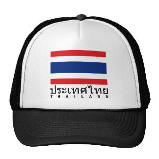 Drapeau de la Thaïlande Casquette Trucker