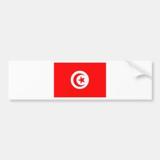 Drapeau de la Tunisie Autocollant Pour Voiture