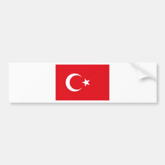 Drapeau de la Turquie - drapeau turc - bayrağı de Autocollant Pour Voiture