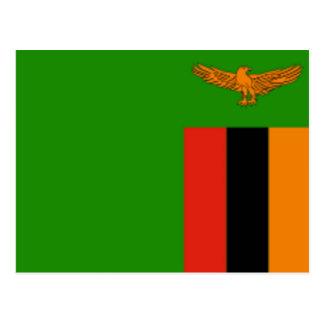 Drapeau de la Zambie Cartes Postales