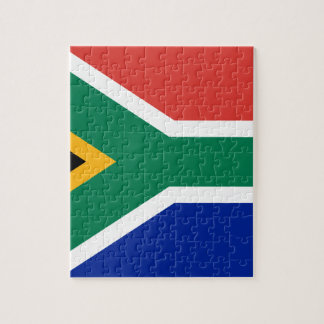Drapeau de l'Afrique du Sud - Vlag van Suid-Afrika Puzzle