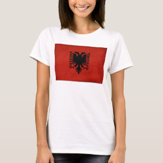 Drapeau de l'Albanie T-shirt