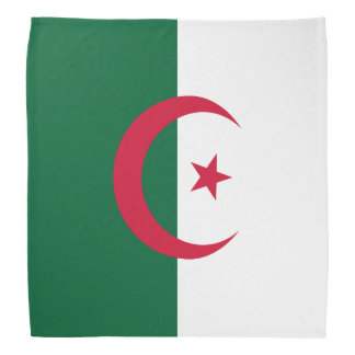 Drapeau de l'Algérie Bandanas