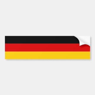 Drapeau de l'Allemagne Autocollant De Voiture