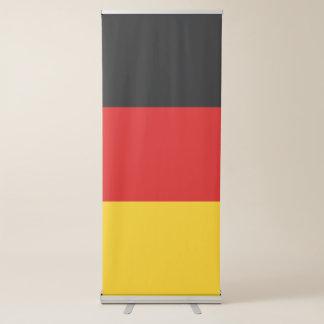Drapeau de l'Allemagne Banderole Rétractable