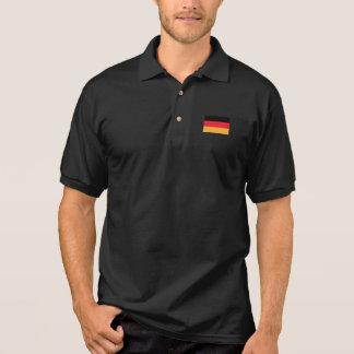 Drapeau de l'Allemagne Polo
