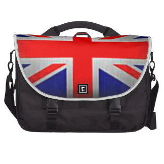 Drapeau de l'anglais de sac d'ordinateur portable sacs ordinateurs portables