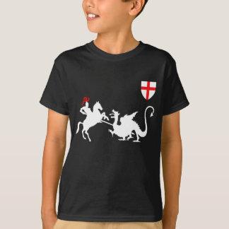 Drapeau de l'anglais du jour de St George T-shirt