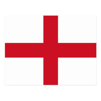 Drapeau de l'Angleterre Carte Postale