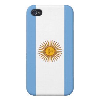 Drapeau de l'Argentine Coque iPhone 4