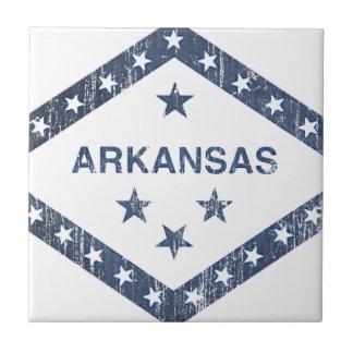 Drapeau de l'Arkansas Carreau