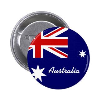 Drapeau de l'Australie Badge Rond 5 Cm