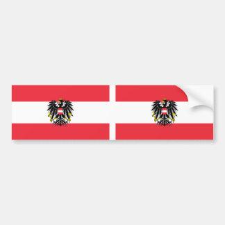 Drapeau de l'Autriche Autocollant Pour Voiture