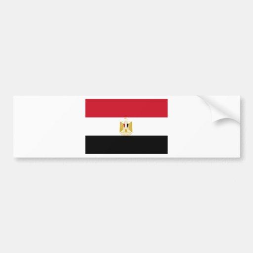 Drapeau de l'Egypte Adhésifs Pour Voiture