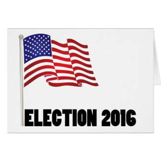Drapeau de l'élection 2016 cartes