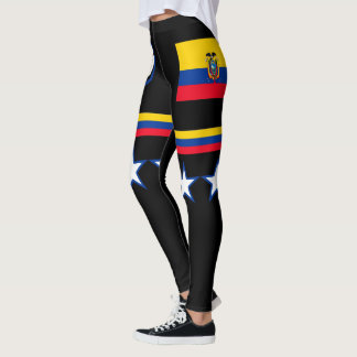 Drapeau de l'Equateur Leggings