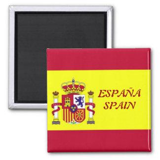 Drapeau de l'Espagne Aimant