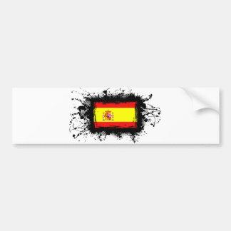 Drapeau de l'Espagne Adhésifs Pour Voiture