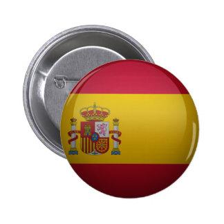 Drapeau de l'Espagne. Badge