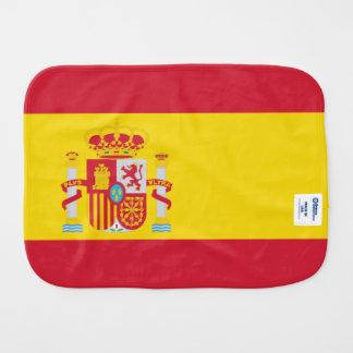 Drapeau de l'Espagne Linges De Bébé