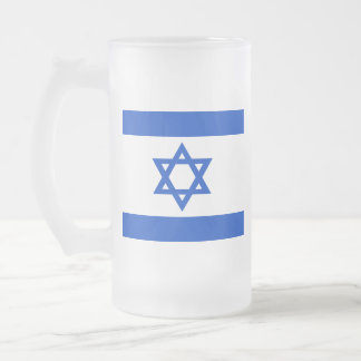 Drapeau de l'état d'Israël Chope Givrée