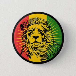 drapeau de lion de reggae de rasta badges