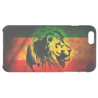 drapeau de lion de reggae de rasta coque iPhone 6 plus