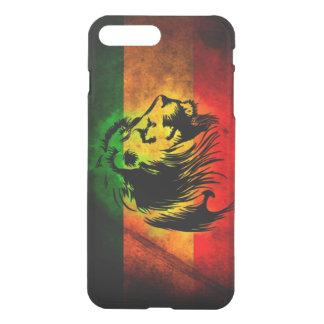 drapeau de lion de reggae de rasta coque iPhone 7 plus