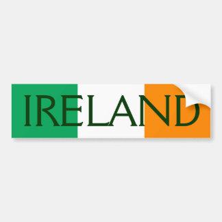 drapeau de l'Irlande Autocollant Pour Voiture
