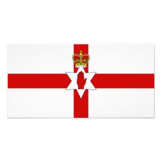 Drapeau de l'Irlande du Nord de bannière d'Ulster Photographes
