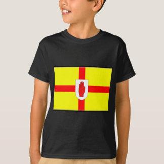 Drapeau de l'Irlande du Nord (Ulster) T-shirt