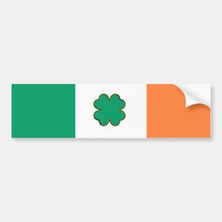 Drapeau de l'Irlande pour les fans irlandaises Autocollant Pour Voiture