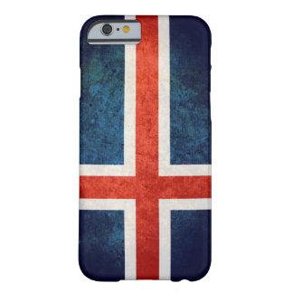 Drapeau de l'Islande Coque Barely There iPhone 6
