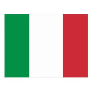 Drapeau de l'Italie Cartes Postales