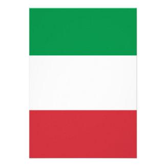 Drapeau de l'Italie Faire-part Personnalisé