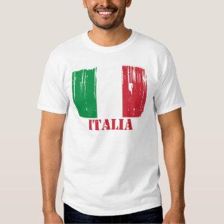 Drapeau de l'Italie T-shirts