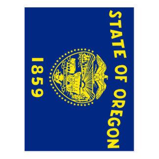 Drapeau de l'Oregon Cartes Postales