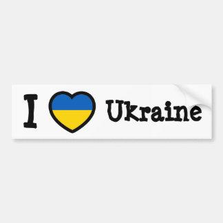 Drapeau de l'Ukraine Autocollants Pour Voiture