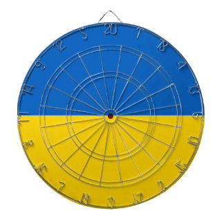 Drapeau de l'Ukraine - drapeau ukrainien - Jeux De Fléchettes