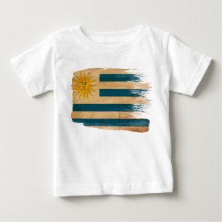 Drapeau de l'Uruguay T-shirt Pour Bébé
